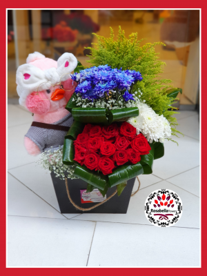 Gift and flower box
